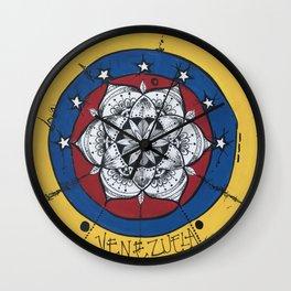 Venezuela Libre Wall Clock