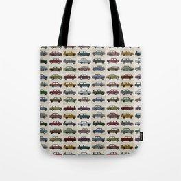 Trabant pattern Tote Bag