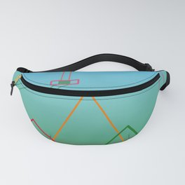 Flying Back Into Town Fanny Pack