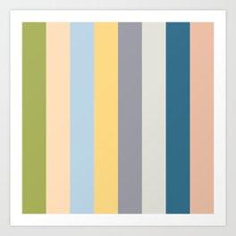 Color palette I Art Print