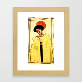 Cit.  Framed Art Print