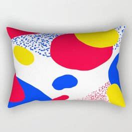 Primary Dots Rectangular Pillow