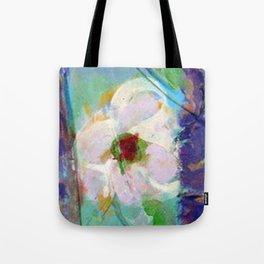 Pink Rose of Peace Tote Bag