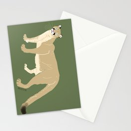 Carnivores of World: Cougar Pum(a) (c) 2017 Stationery Cards