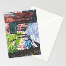 Sunday Morning in Brooklyn, NY Stationery Cards