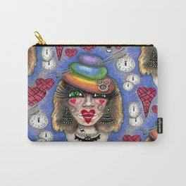 My Creepy Steampunk Valentine Carry-All Pouch