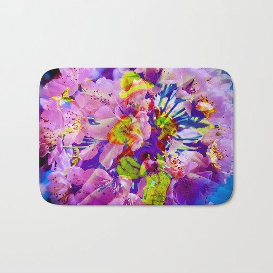flowers magic Bath Mat