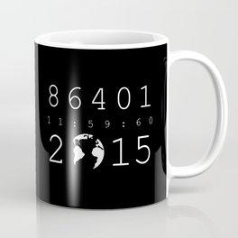 86401 Leap Second 2015 (white version) Coffee Mug