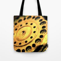 grunge Tote Bags featuring Grunge by VoiceOneArts
