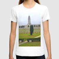 battlefield T-shirts featuring Verdun Memorial 14-18  by Premium