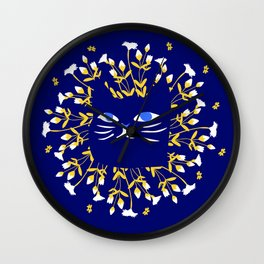 StrangerCat Wall Clock