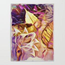 Dancing Leaves Poster