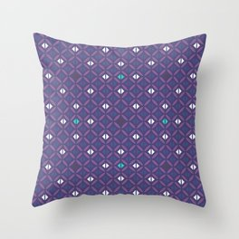 Arabian Nights Geometric Throw Pillow