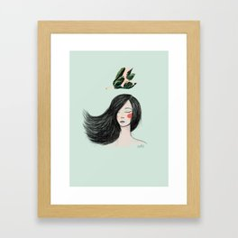 Miss Yagrumo II Framed Art Print