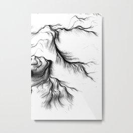 Tear Metal Print