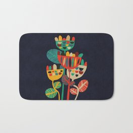 Wild Flowers Bath Mat