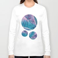 palm Long Sleeve T-shirts featuring Palm #1 by cafelab