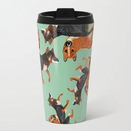 New Guinean Singing dog (c) 2017 Travel Mug