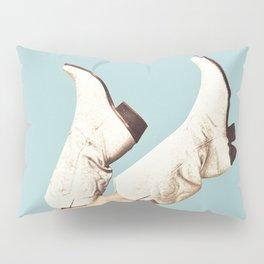 These Boots - Blue Pillow Sham