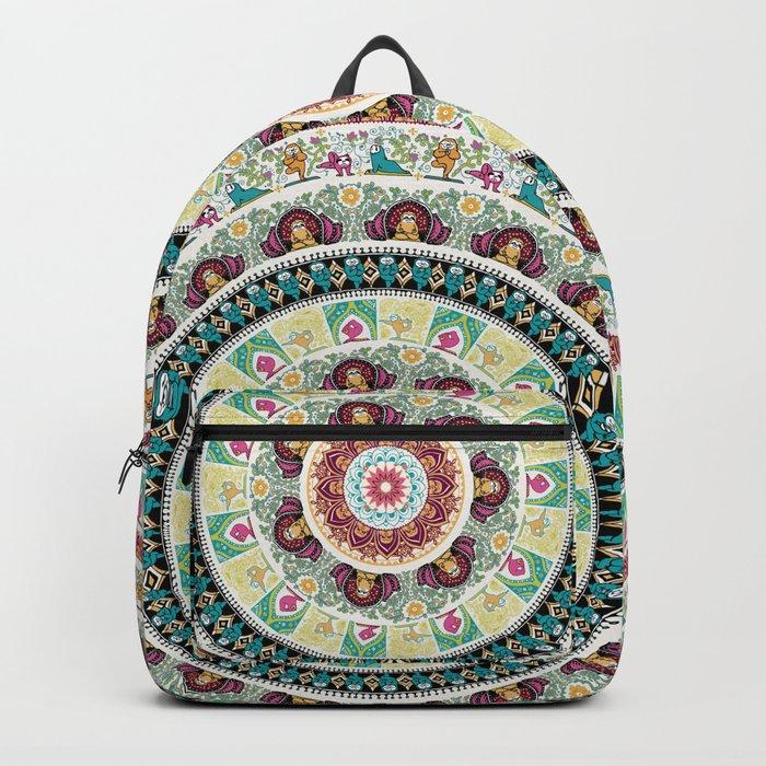 Sloth Yoga Medallion Backpack