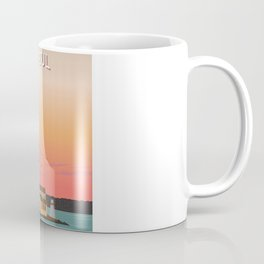 Istanbul Illustration Coffee Mug