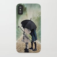 waves iPhone & iPod Cases featuring Waves by Cs025