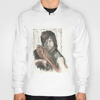 daryl dixon Hoodies featuring Daryl Dixon by Eric Dockery