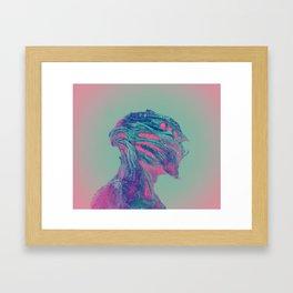 Kepler 186f Framed Art Print