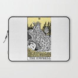 Modern Tarot Design - 3 The Empress Laptop Sleeve