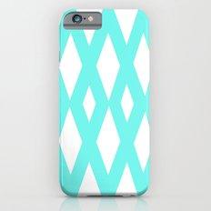 Aqua Diamonds iPhone 6s Slim Case