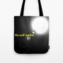 The wolf number Tote Bag