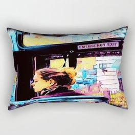 Emergency Exit Rectangular Pillow