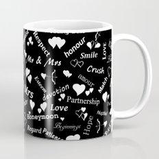 Words of Love. Mug