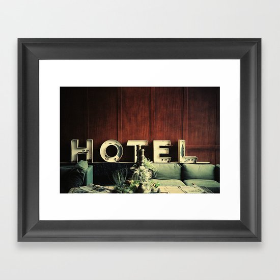 Hotel Framed Art Print