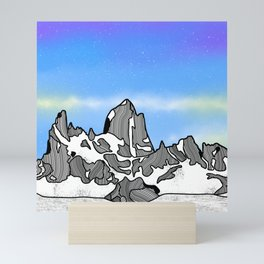 Monte Fitz Roy Mini Art Print