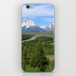 Snake River And The Grand Tetons iPhone Skin