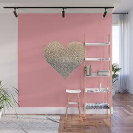 GOLD HEART CORAL Wall Mural