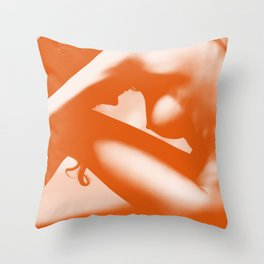 Nude Throw Pillow
