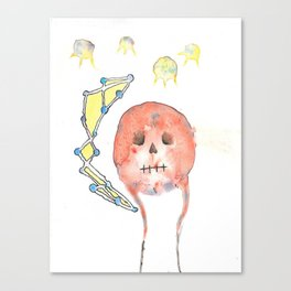 Skelton Canvas Print