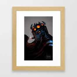 Orc Mage Framed Art Print