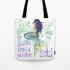 Mermaid : Profound Depths Tote Bag