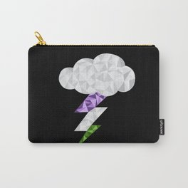 Gender Queer Storm Cloud Carry-All Pouch