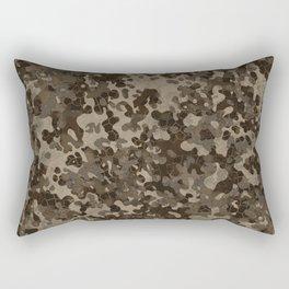 Rocky Desert Camo Pattern Design Rectangular Pillow
