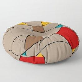 Color Panes Floor Pillow