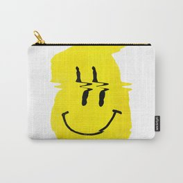 Smiley Glitch Carry-All Pouch
