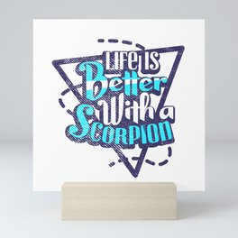 Scorpion Mini Art Print