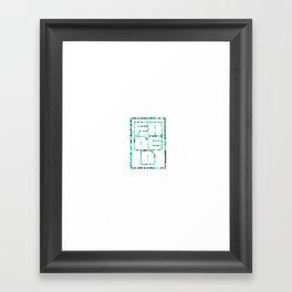 FADED Framed Art Print