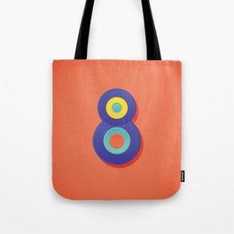 Alphabet Drop Caps Series- 8 Tote Bag