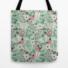 Garden Butterflies  Tote Bag