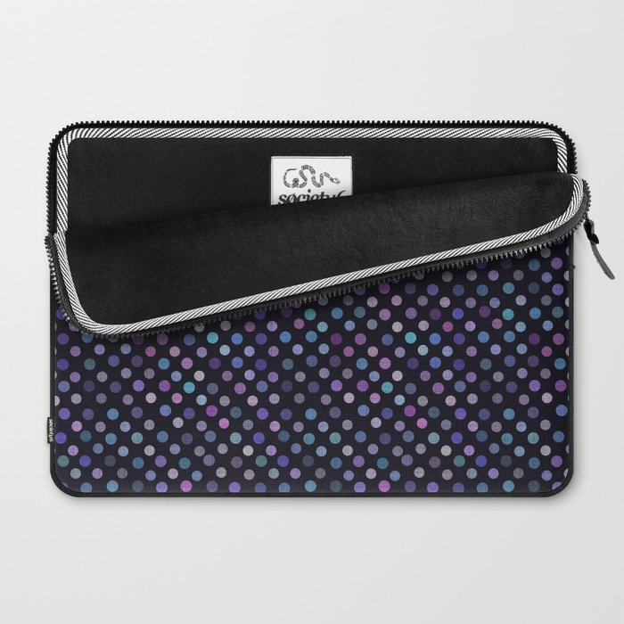 Retro Colored Dots Material Laptop Sleeve